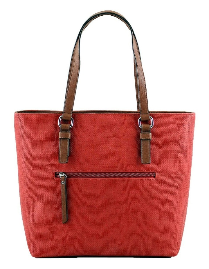 CSQ200 Audrey Double Handle Red Tote Bag image 3