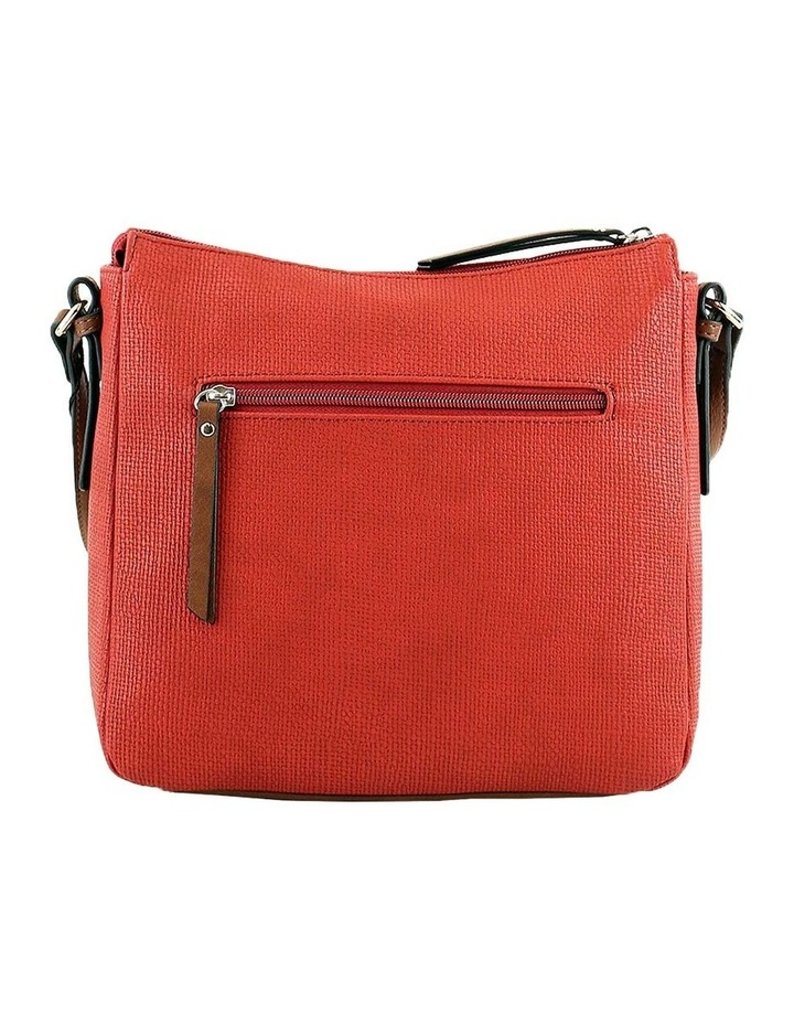 CSQ201 Audrey Zip Top Red Crossbody Bag image 3