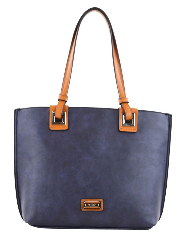 CSQ257 Renee Double Handle Blue Tote Bag image 1