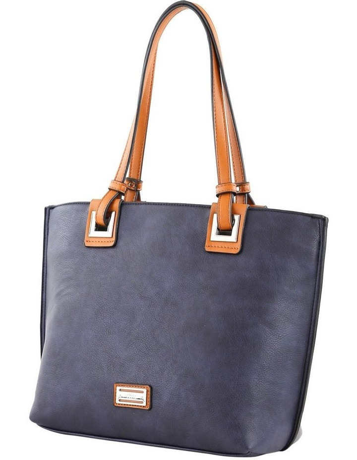 CSQ257 Renee Double Handle Blue Tote Bag image 2