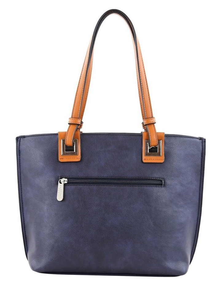CSQ257 Renee Double Handle Blue Tote Bag image 3