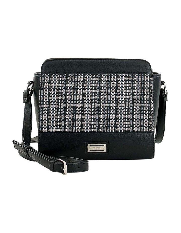 CSQ235 Holly Zip Top Black Crossbody Bag image 1