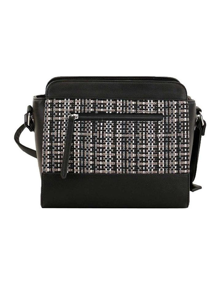 CSQ235 Holly Zip Top Black Crossbody Bag image 3