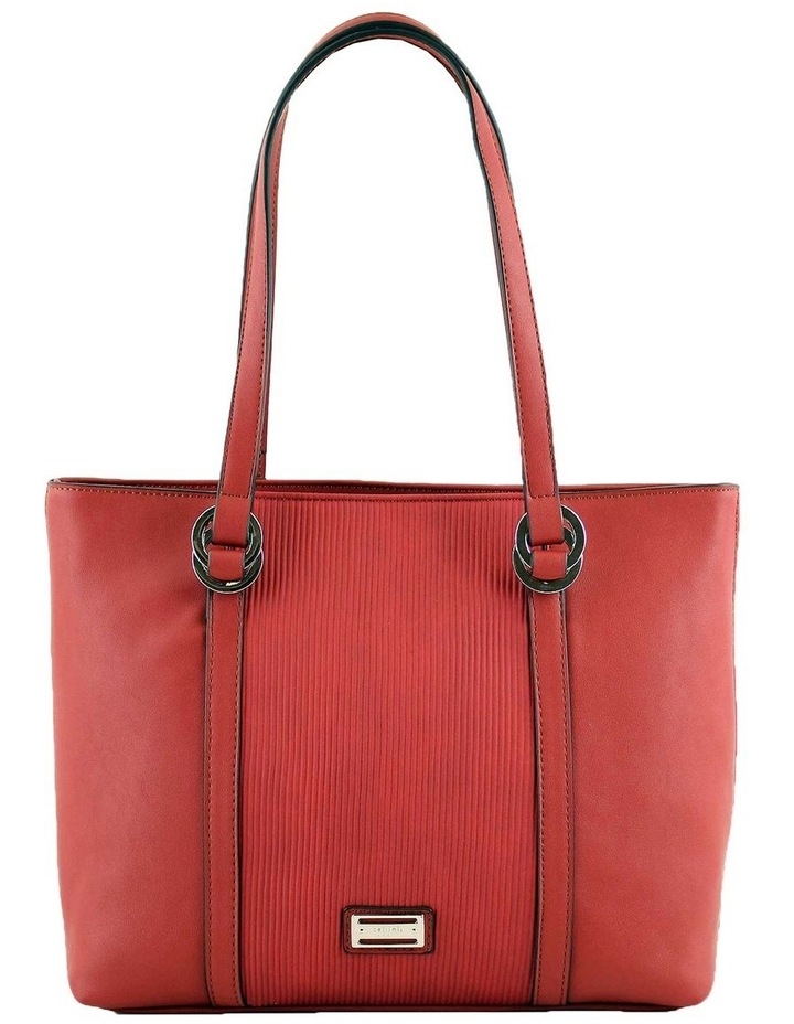 CSQ266 Pattie Double Handle Red Tote Bag image 1