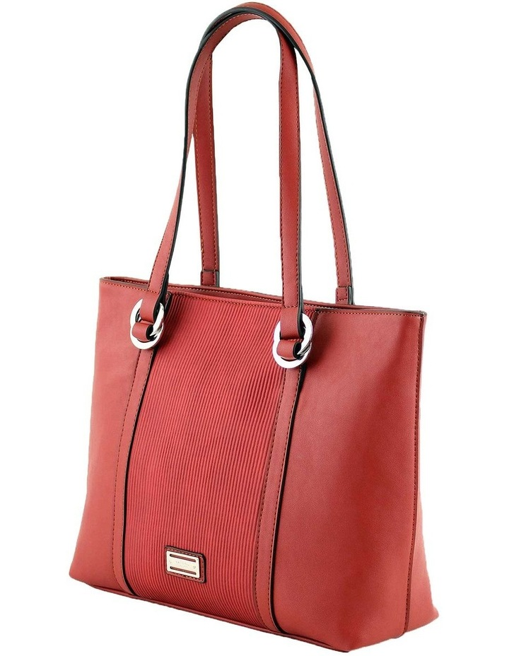 CSQ266 Pattie Double Handle Red Tote Bag image 2