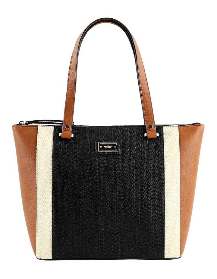 CSQ283 Tori Double Handle Tan Tote Bag image 1