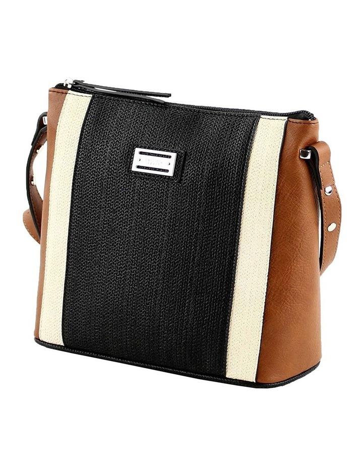 CSQ284 Tori Zip Top Tan Crossbody Bag image 2