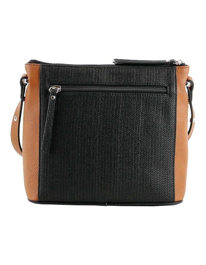 CSQ284 Tori Zip Top Tan Crossbody Bag image 3
