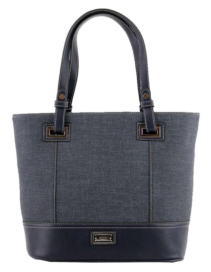 CSQ238 Irene Double Handle Blue Tote Bag image 1