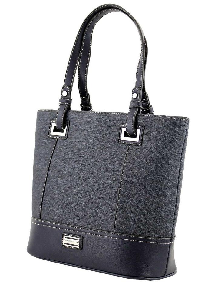 CSQ238 Irene Double Handle Blue Tote Bag image 2