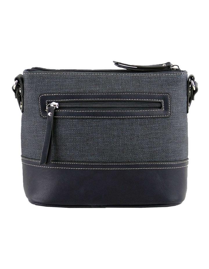 CSQ240 Irene Zip Top Blue Crossbody Bag image 3
