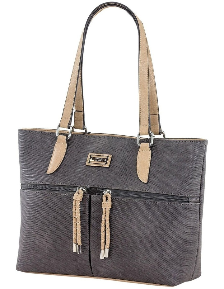 CSS130 Edith Zip Top Tote Bag image 2