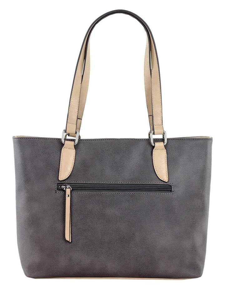 CSS130 Edith Zip Top Tote Bag image 3