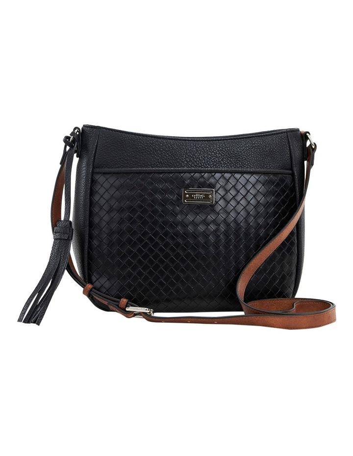 Helen Black Zip Top Crossbody Bag image 1