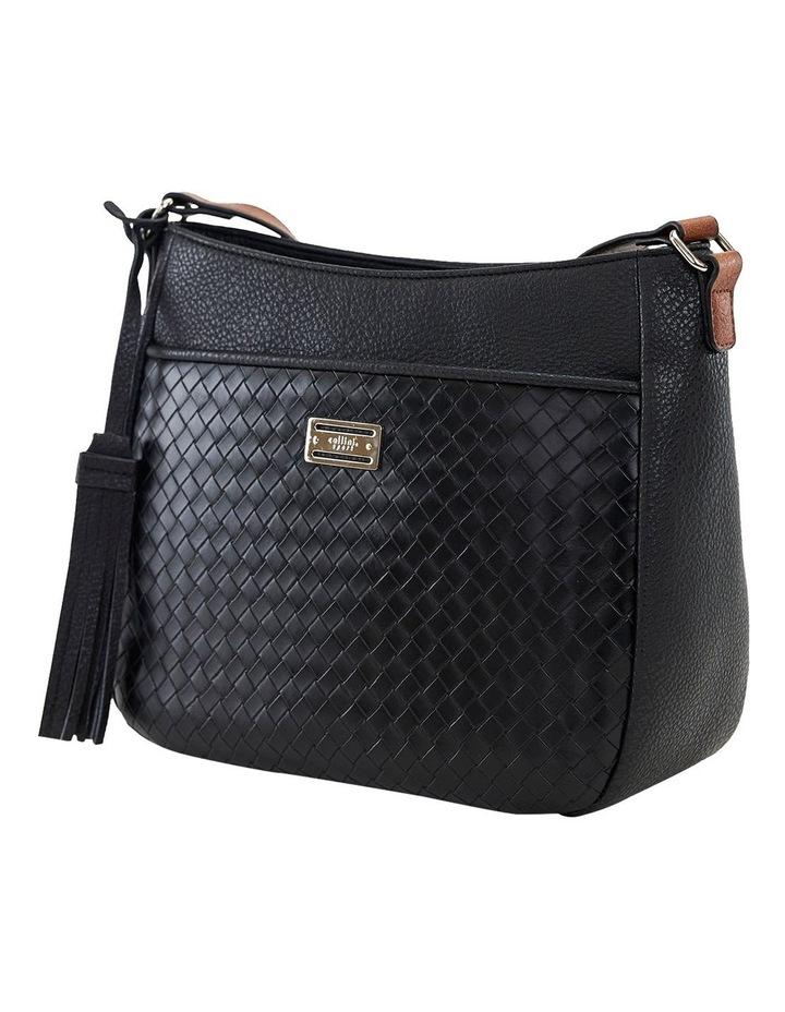 Helen Black Zip Top Crossbody Bag image 2