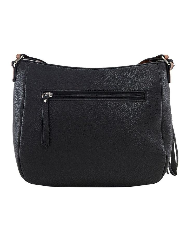 Helen Black Zip Top Crossbody Bag image 3