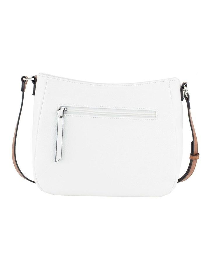 Helen White Zip Top Crossbody Bag image 3