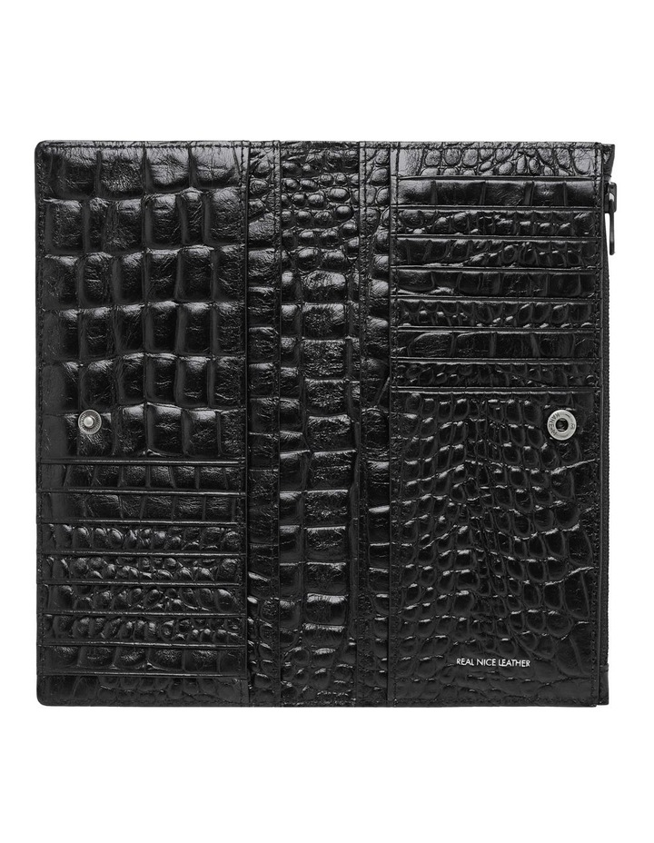 SA1437 In The Beginning Bifold Black Wallet image 3