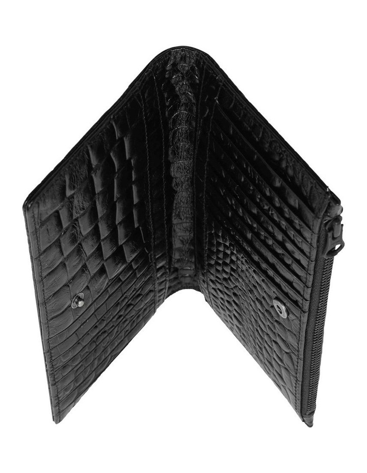 SA1437 In The Beginning Bifold Black Wallet image 4