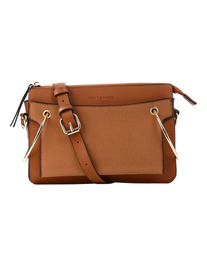 07172 Caleb Zip Top Crossbody Bag image 1