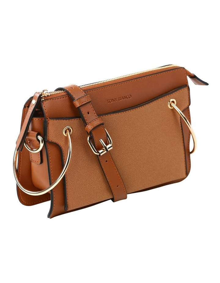 07172 Caleb Zip Top Crossbody Bag image 2