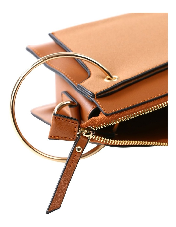 07172 Caleb Zip Top Crossbody Bag image 4