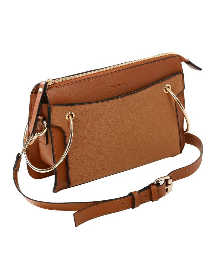07172 Caleb Zip Top Crossbody Bag image 5