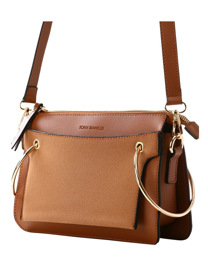 07172 Caleb Zip Top Crossbody Bag image 6