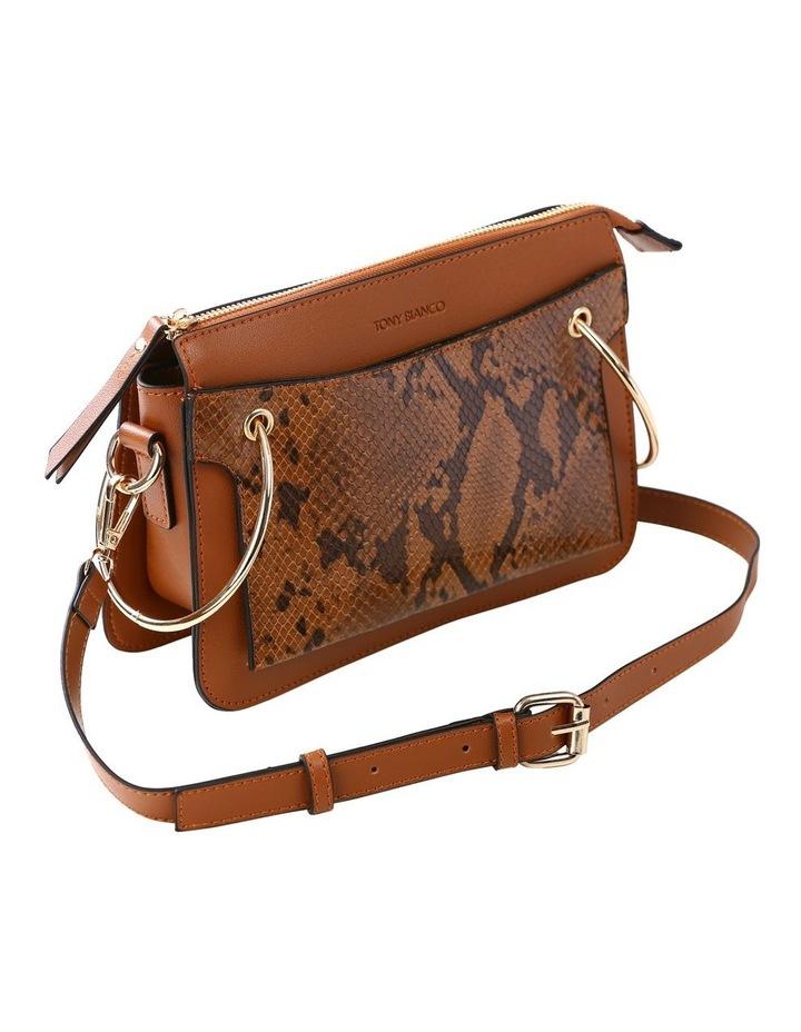 07172 Caleb Zip Top Crossbody Bag image 5