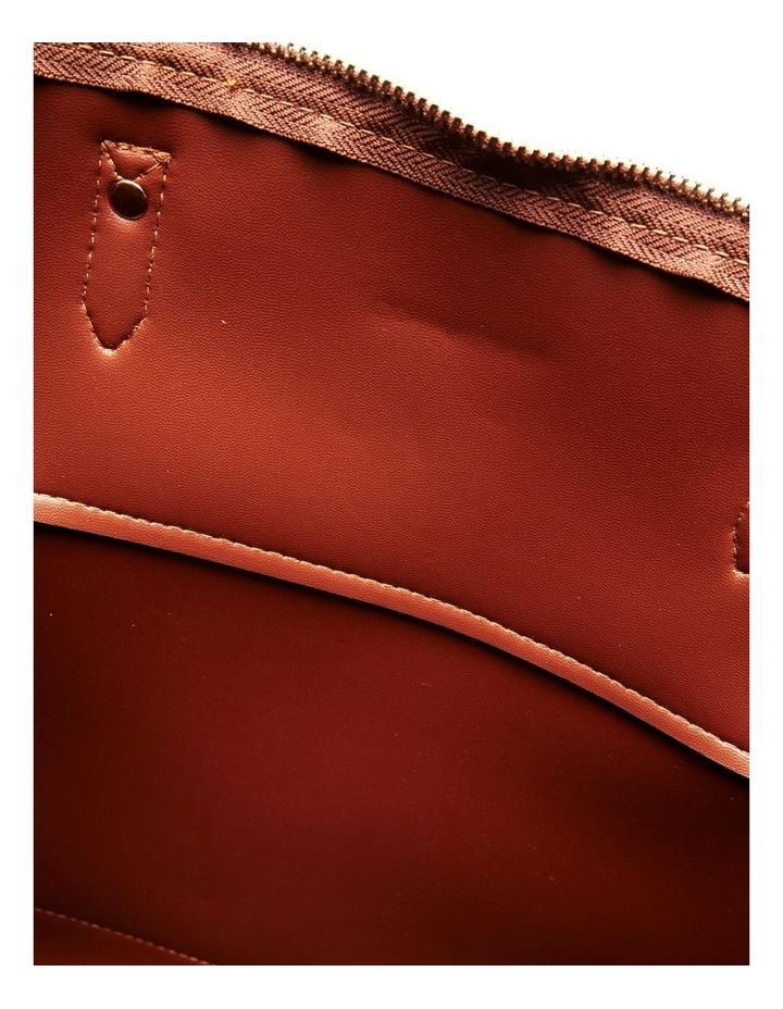 07174 Cam Zip Top Tote Bag image 5