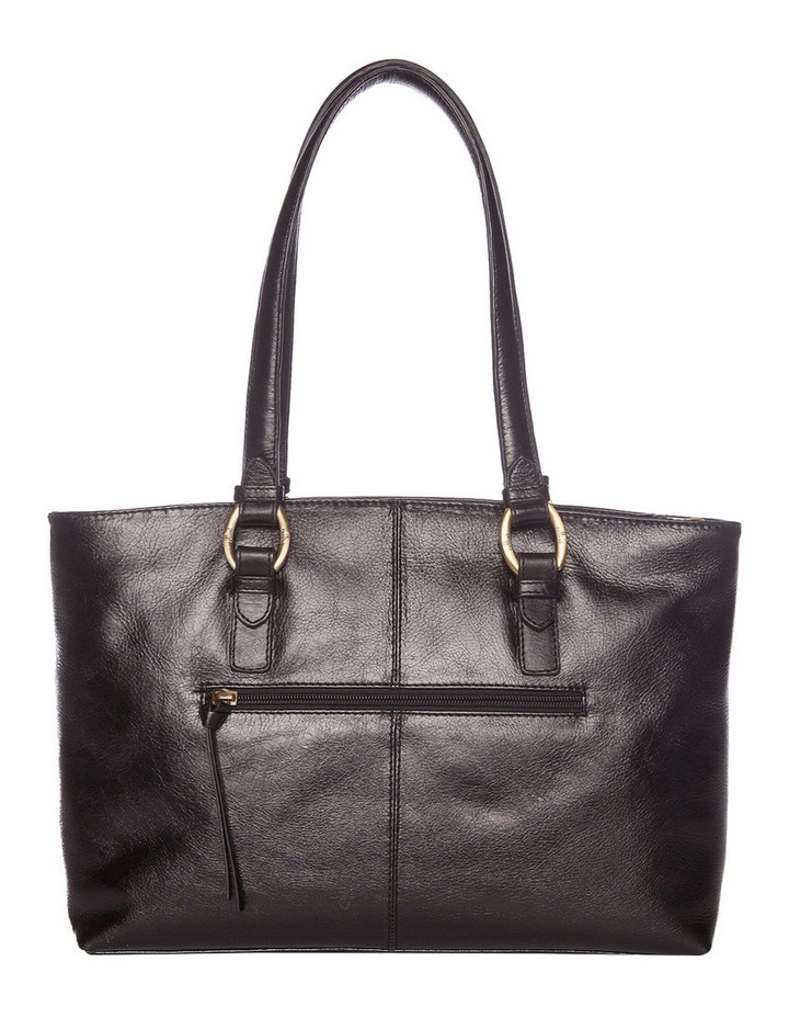 Double Handle Tote in Black CLG013 image 3