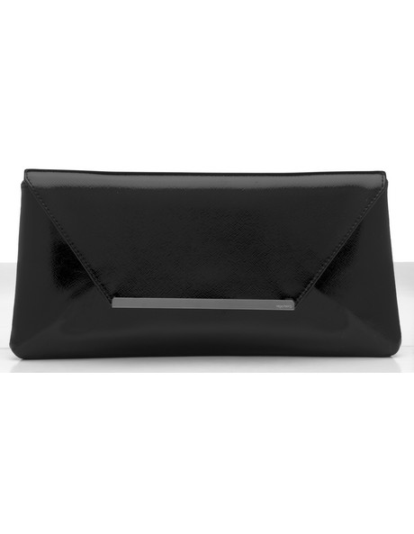 Fold Over Clutch with Metal Strip OB1468 image 1