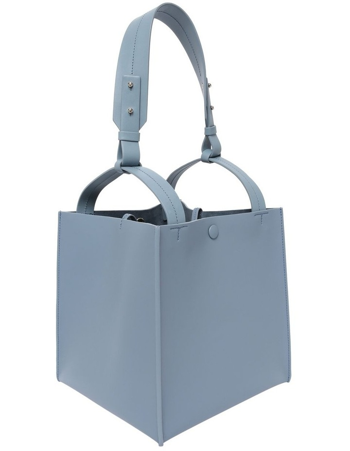 Small Cube Double Handle Tote Bag BG325LS image 2