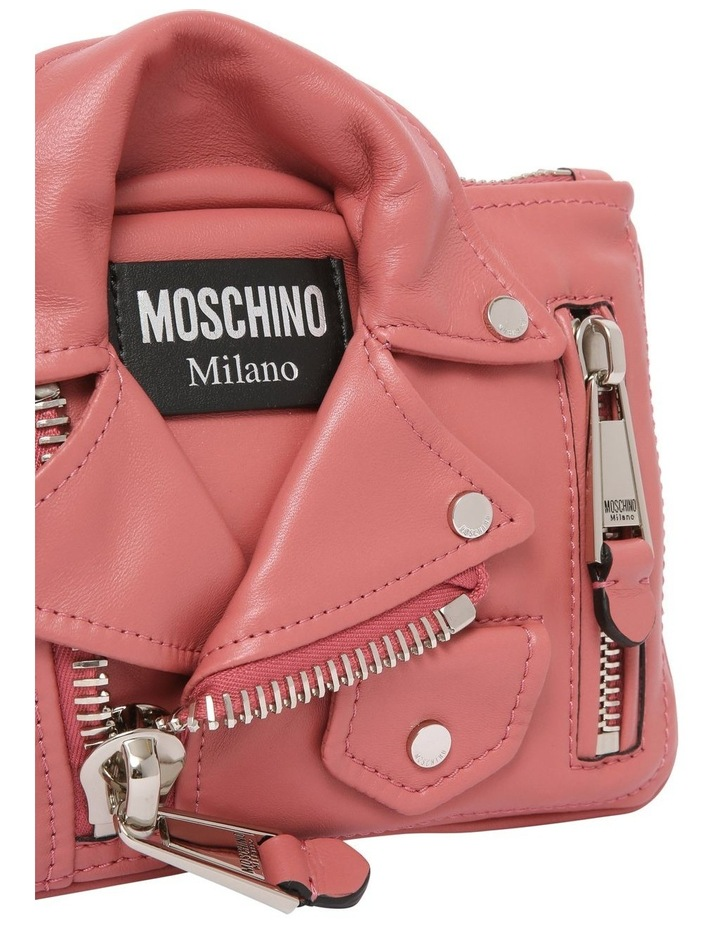 7429 8002 Biker Zip Top Crossbody Bag image 3