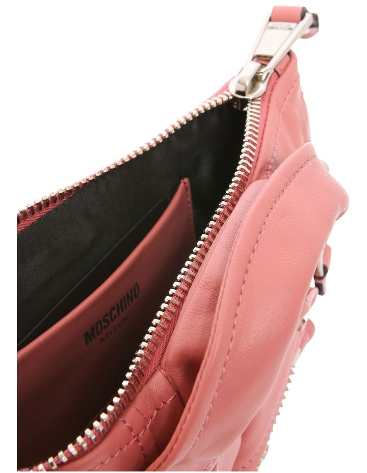 7429 8002 Biker Zip Top Crossbody Bag image 4