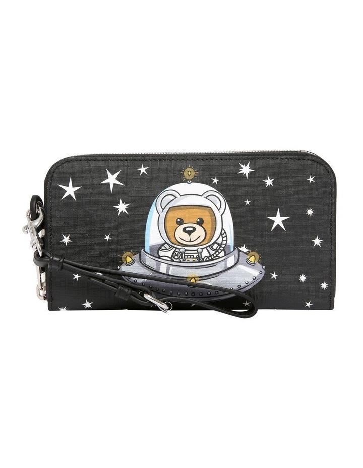 8142 8210 Space Teddy Zip Around Wallet image 1