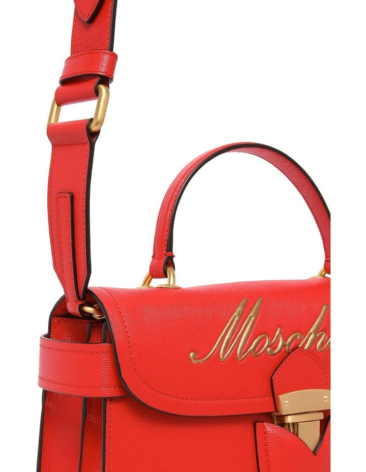 Cursive Flap Over Crossbody Bag 7455 8005 image 4