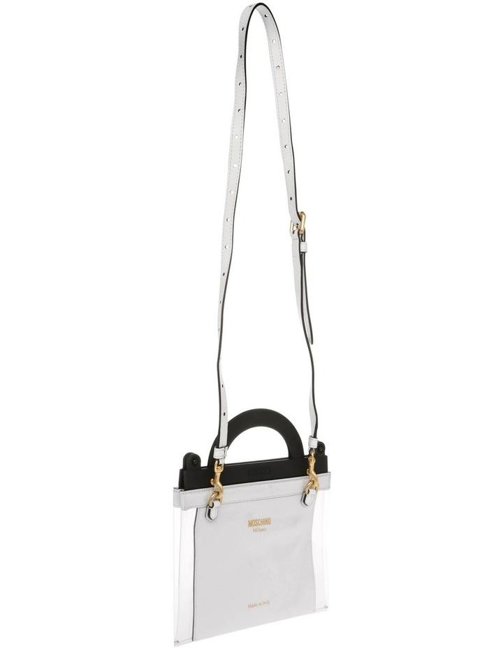 Transparent Top Handle Shoulder Bag image 2