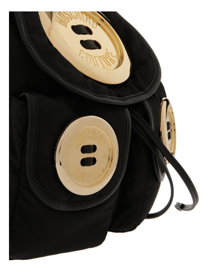Button Flap Over Backpack image 3
