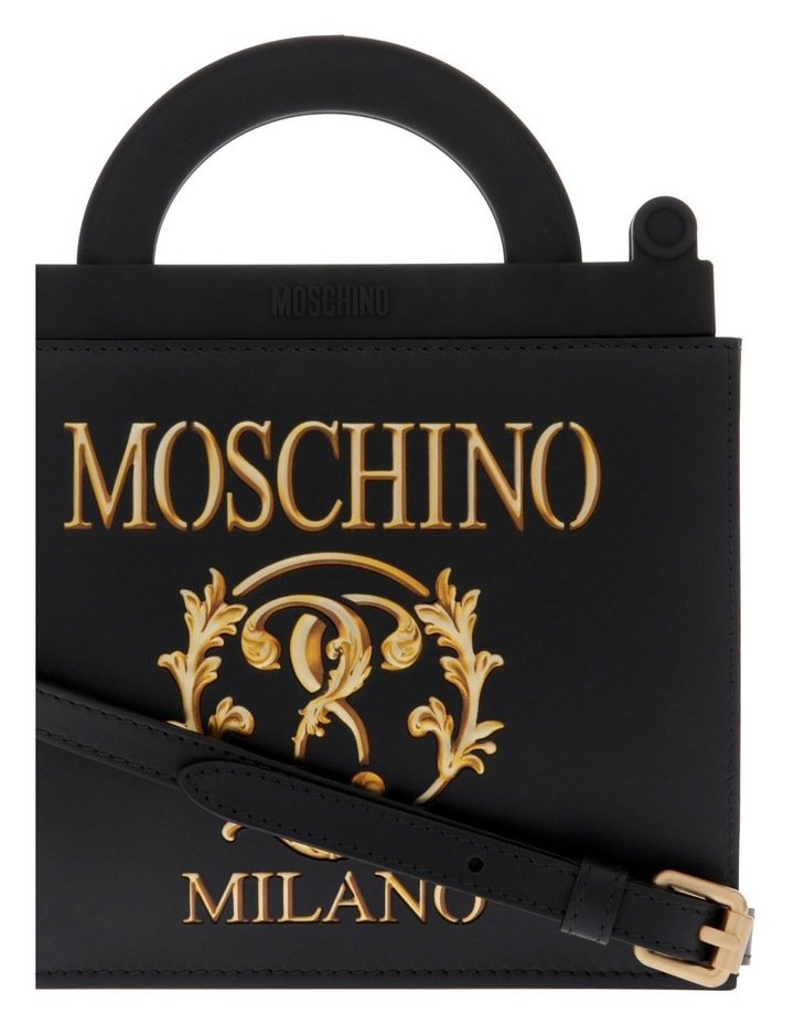 Roman Double Question Mark Mini Shopping Bag image 3