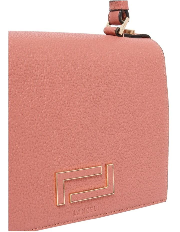 A09449 Pia Flap Bag Top Handle Crossbody Bag image 2
