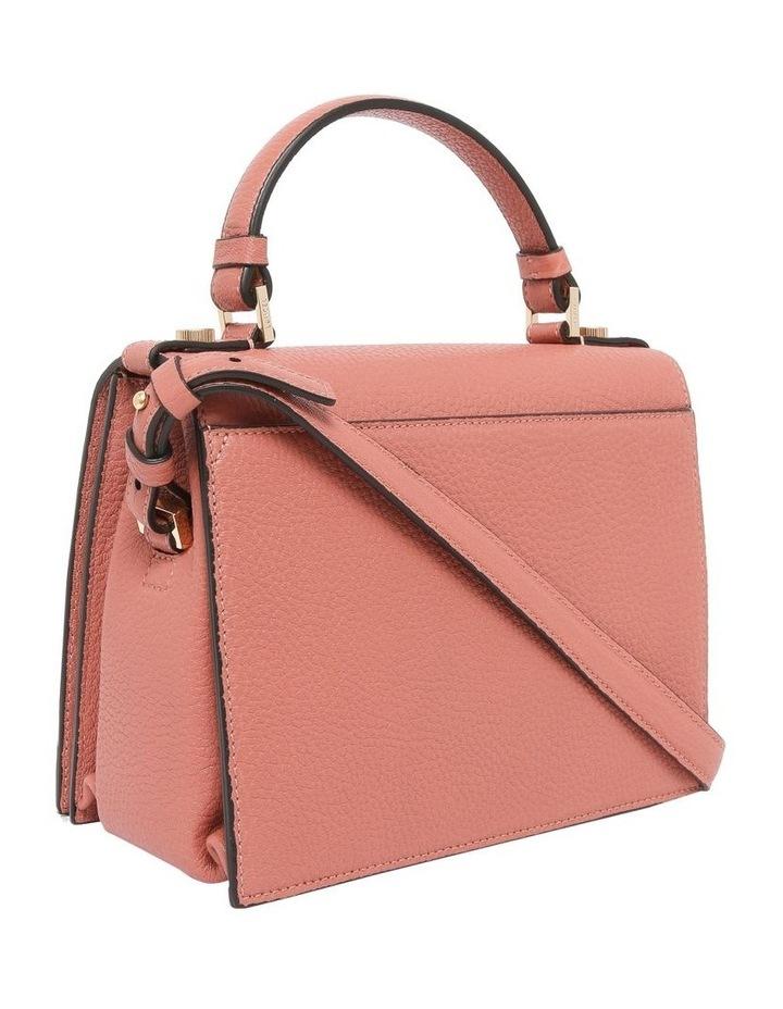 A09449 Pia Flap Bag Top Handle Crossbody Bag image 3