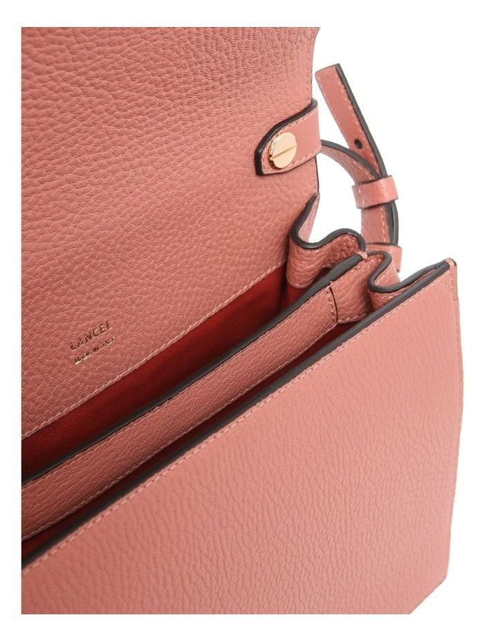 A09449 Pia Flap Bag Top Handle Crossbody Bag image 4