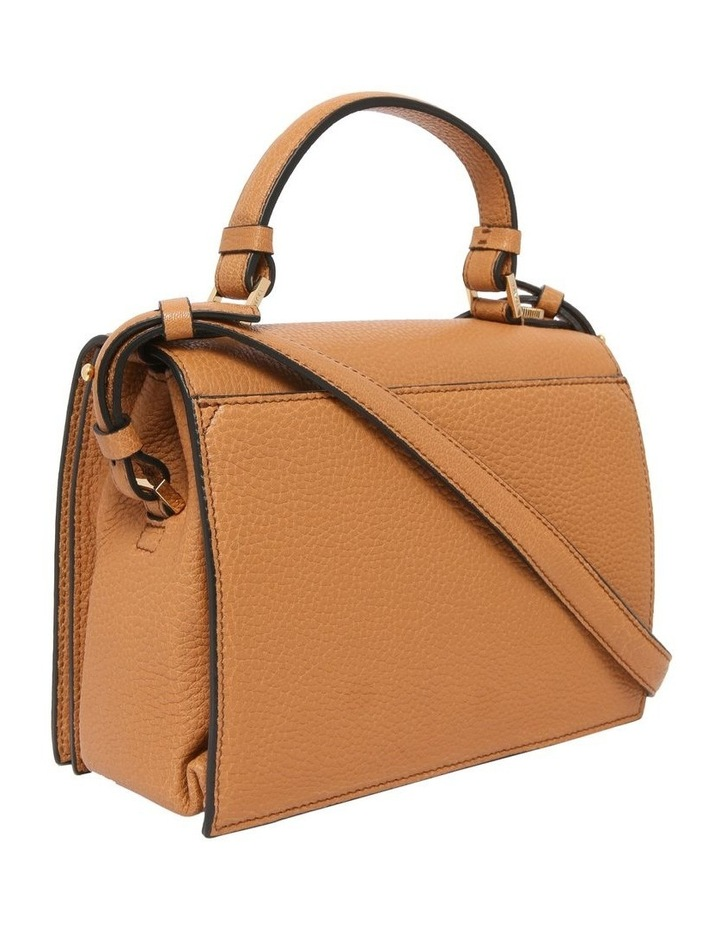 A09449 Pia Flap Bag Top Handle Crossbody Bag image 2