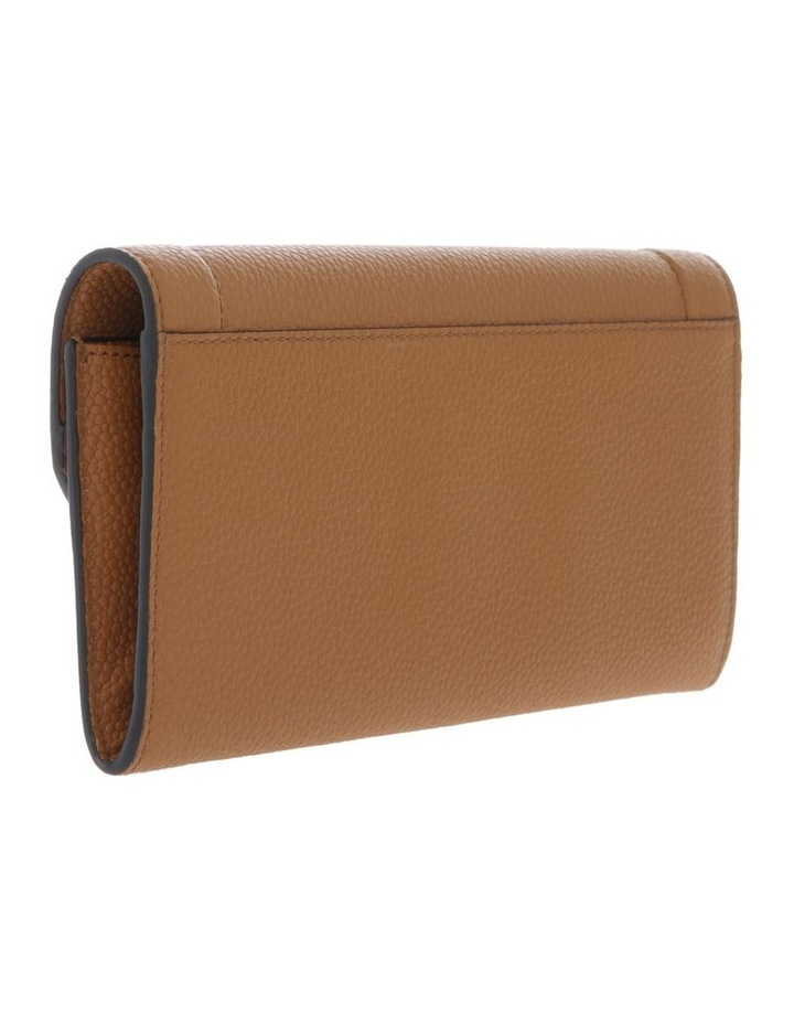 Ninon Flap-Over Wallet in Camel Brown image 2