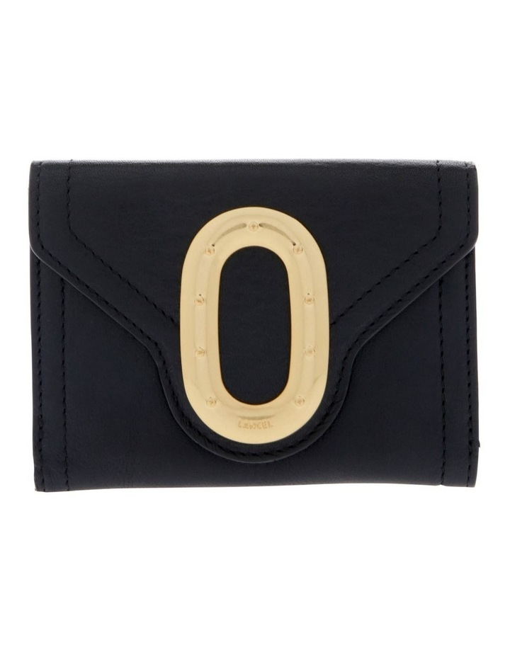 Romane De Lancel Flap-Over Wallet in Black image 1