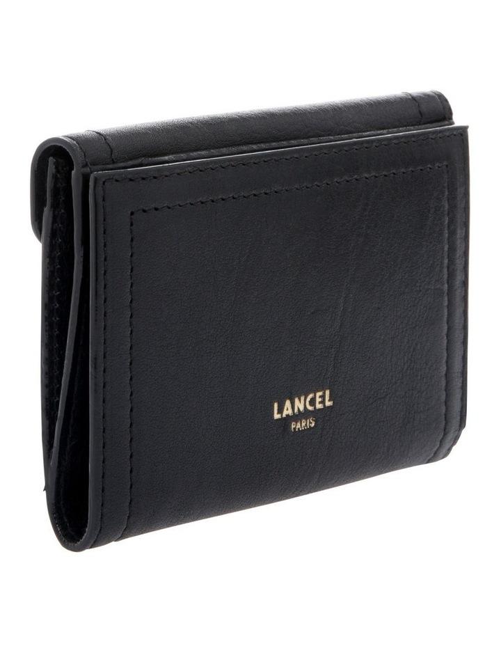 Romane De Lancel Flap-Over Wallet in Black image 2
