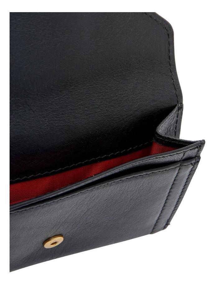 Romane De Lancel Flap-Over Wallet in Black image 4