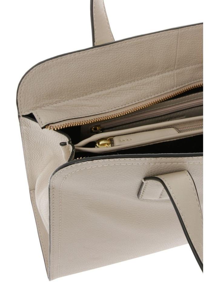 Segovia Beige Double-Handle Tote Bag image 4