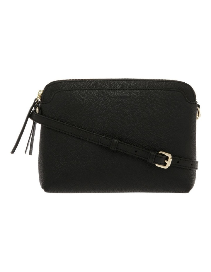 Segovia Black Zip-Top Crossbody Bag image 1